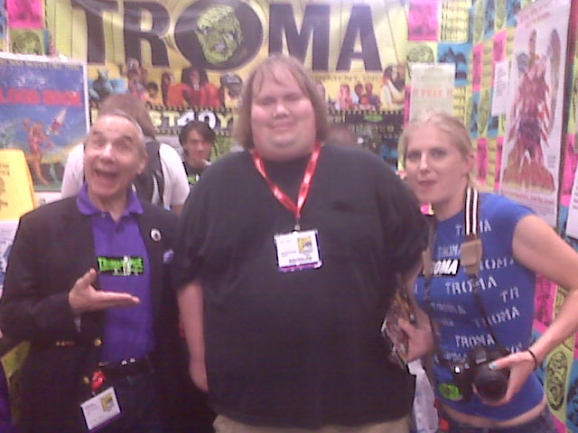 Image for PHOTOS FROM COMIC-CON 2011 AT THE FAMOUS TROMA BOOTH